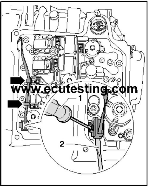 09 jetta of abs module location on