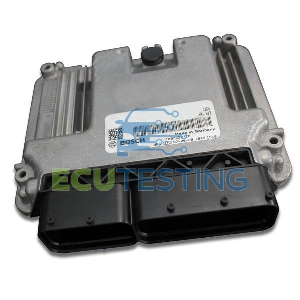 OEM no: 0281017012 / 0 281 017 012 - Fiat DOBLO - ECU (Engine Management)