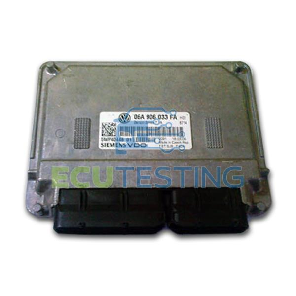 OEM no: 5WP40808 04 / 5WP4080804 /  5WP4041204 - Skoda FABIA - ECU (Engine Management)