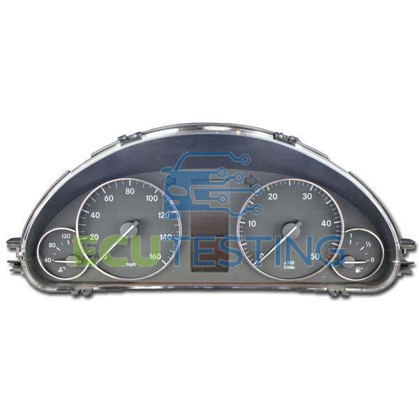 OEM no: 110080327010 / 110.080.327 010 / 110.080.384 008 / 110.080.384 008 - Mercedes C-CLASS - Dashboard Instrument Cluster