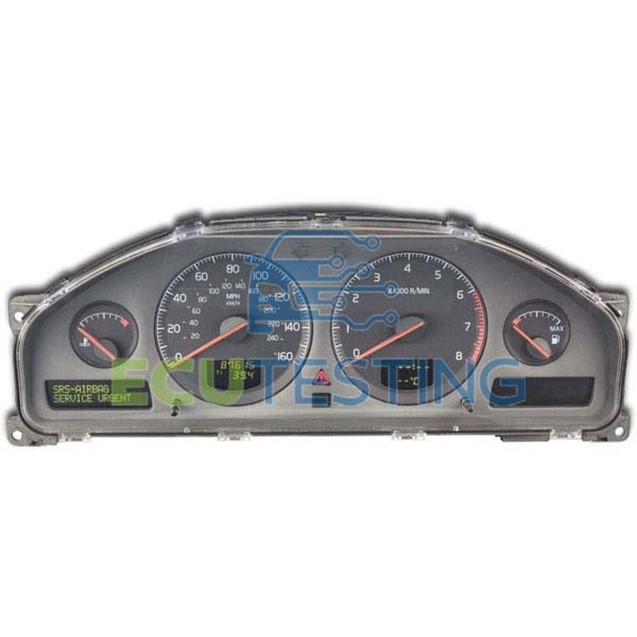 Volvo V70, S60, S80 and XC90 instrument cluster fault
