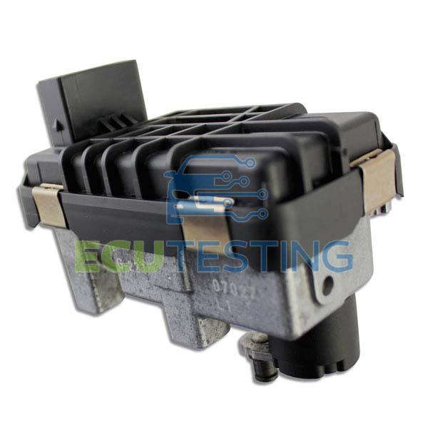 OEM no: 6NW009550 / 6NW 009 550 - Audi A7 - Actuator (Turbo)