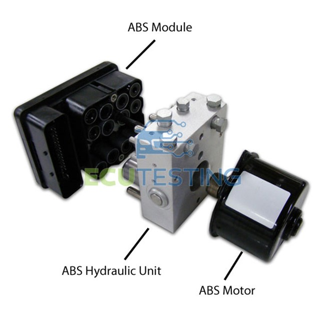 ABS Pumps, modules and hydraulic units combined.