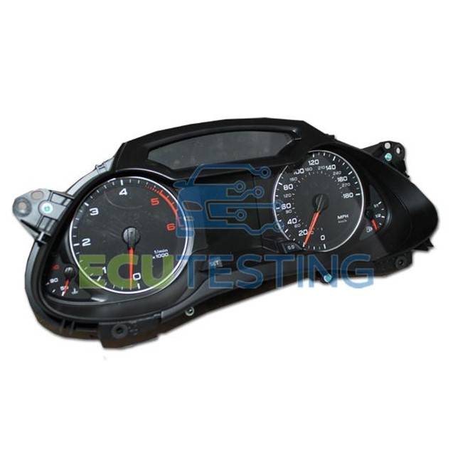 Audi A4 instrument cluster