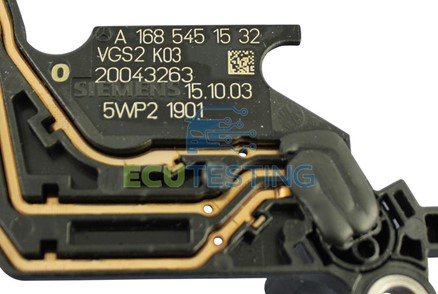 A-Class Automatic Gearbox ECU part number location