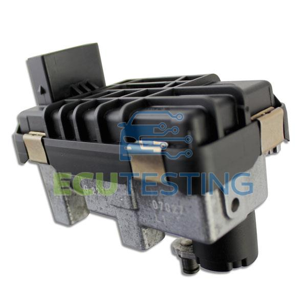 OEM no: 6NW008412 / 6NW 008 412 - Mercedes C-CLASS - Actuator (Turbo)