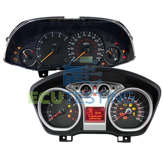 Ford Focus Dashboard Instrument Cluster - common fault