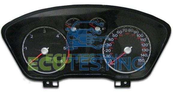 mon ford ecu faults ecu testing Ford Festiva Wiring Harness Diagrams ford focus dashboard instrument cluster mon problem